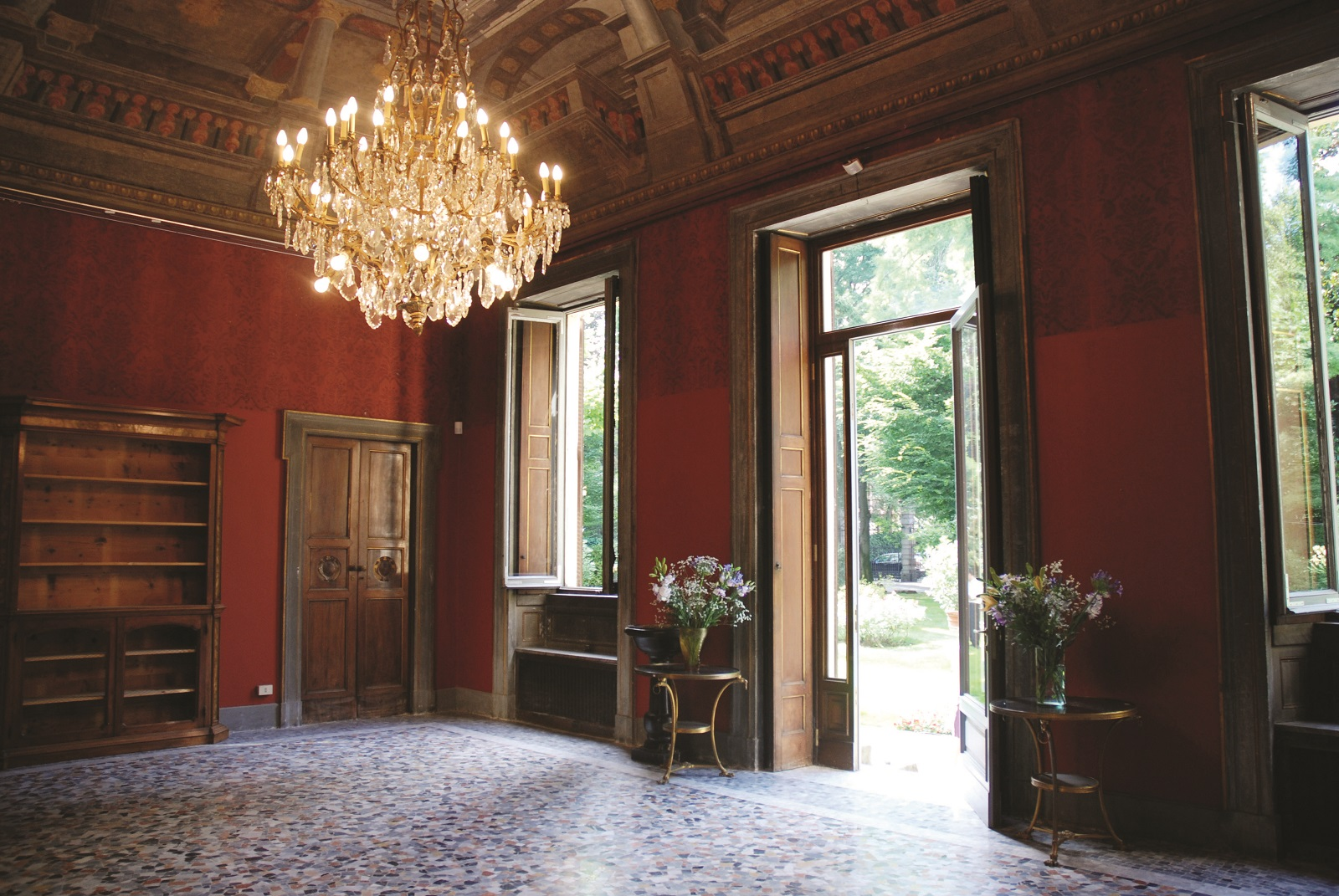 Sala Rossa P. Crivelli Welcome to the Castle