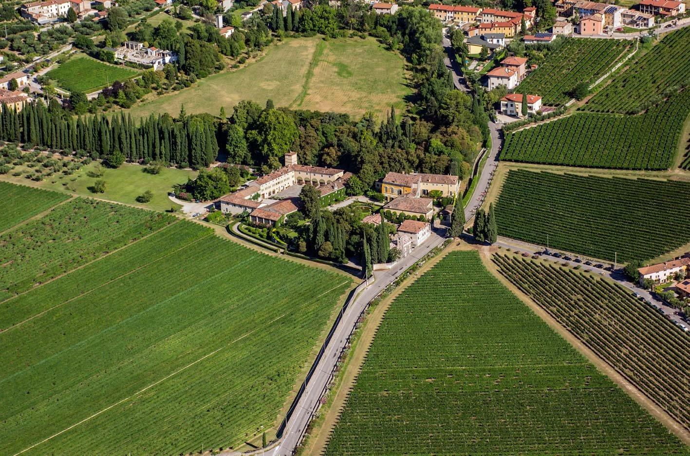 Villa Serego Alighieri Welcome to the Castle